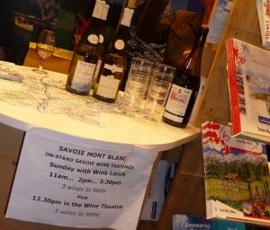 Savoie wine tasting