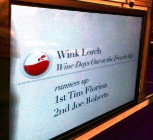 Born Digital Wine Awards Tourism