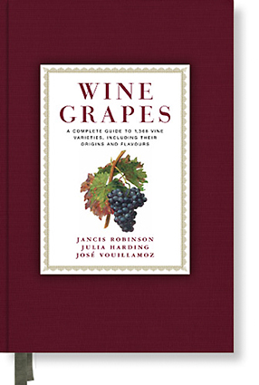Wine Grapes book